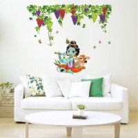 Rawpockets Large Wall Sticker  Sticker(Pack of 1)