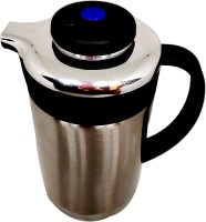 Blue Birds GOOD quality Stainless Thermo Steel Air Tight Leak Resistant Double-Wall Vacuum Insulated Coffee,Tea, Beverage Coffee Pot, Jug Flask Capacity-1.3 L Multipurpose Special Gift Pack, Self Use; and Diwali, Dhanteras & Festive Gifts Pot 1.3 L with Lid(Stainless Steel, Non-stick, Induction Bott