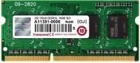 Transcend SO-DIMM 1600MHZ DDR3 2 GB (Single Channel) Laptop (TS256MSK64W6N)
