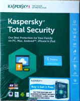 KASPERSKY Total Security 1 User 1 Year(CD/DVD)