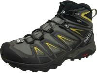 Salomon X Ultra 3 Wide Mid Ankle Waterproof Hiking & Trekking Shoes For Men(Green)
