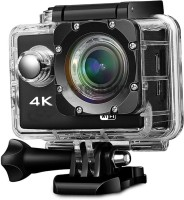 Lizzie 4K Sport Action Camera, Sports and Action Camera(Black, 16 MP)