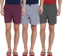Metronaut Checkered Men Boxer(Pack of 3)