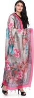 PKYC Tussar Silk Printed Women Dupatta