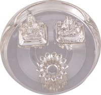Shreeng silver plated Small ganesh laxmi plate (4