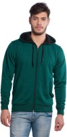 Alan Jones Full Sleeve Solid Men Sweatshirt