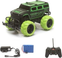 Miss & Chief Big and Mean Rock Crawling 1:20 Scale Modified Off-Road Hummer RC Car/Monster Truck(Green)(Multicolor)