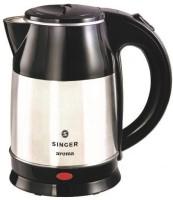 Singer Aroma(SKT 180 ASE) Electric Kettle(1.8 L, Silver, Black)