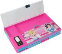 GENCLIQ 1 Cartoon Art Plastic Pencil Box(Set of 1, Pink)
