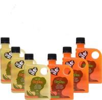 &ME Rhythm, Menstrual Health Beverage (Pack of 6, GreenApple & Orange) 230 ml(Pack of 6)