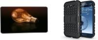 Kolorfame Case Accessory Combo for Samsung Galaxy J1(Black, Multicolor)