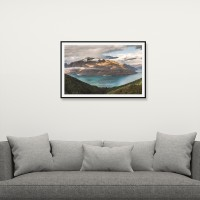 Picsdream Framed Photo Print Picture Perfect on Matte Paper Digital Reprint 13 inch x 20 inch Painting