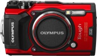 Olympus TG-5(12 MP, 4x Optical Zoom, 4x Digital Zoom, Red)