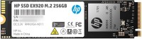 HP EX920 M.2 256 GB Laptop, Desktop Internal Solid State Drive (2YY45AA#ABB)