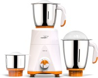 V-Guard NA Victo with 100% Copper Winding Motor 750 W Mixer Grinder(White, Orange, 3 Jars)