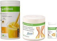Herbalife Combo Of Mango Shake , Protein 200 Gm & Afresh Elaichi Protein Blends(750 g, Mango, Elaichi)