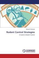 Rodent Control Strategies(English, Paperback, El-Dahshan Ahmed)
