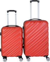 3G Cabin Suitcase, Check-in Suitcase Combo(Red)