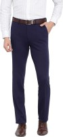 Arrow Slim Fit Men Blue Trousers