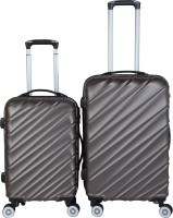 3G Cabin Suitcase, Check-in Suitcase Combo(Brown)