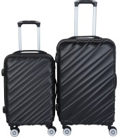 3G Cabin Suitcase, Check-in Suitcase Combo(Black)