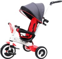 R for Rabbit Tiny Toes Magna - The Luxurious and Exclusive Tricycle for Kids -Baby with Magnesium Alloy Structure (Red White) TCTTMRW1 Tricycle(Red, White)