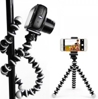 BJORK UNIVERSAL SUPPORTED OCTOPUS DESIGN DSLR CAMERA/MOBILE HOLDER STAND/TRIPOD SELFIE STAND/STICK MONOPOD FOR ACTION/SHOOTING /VIDEO RECORDING 10
