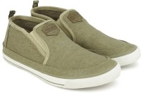 Woodland Slip On Sneakers For Men(Khaki)