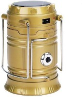 Connectwide 6+1 LED Solar Emergency Light Rechargeable Camping Lantern Solar Light Set(Free Standing Pack of 1)