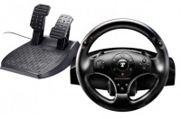 Thrustmaster T100 Force Feedback Racing Wheel  Joystick(Black, For PC, PS3)