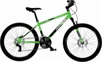 Hercules Roadeo Maverick 24 T Mountain/Hardtail Cycle(7 Gear, Black, Green)