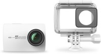 yi 4K with Water Proof Case Sports and Action Camera(White, 12 MP)
