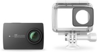 yi 4K with Water Proof Case Sports and Action Camera(Black, 12.2 MP)