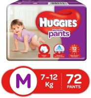 Huggies Wonder Pants Medium Size Diapers - M(72 Pieces)