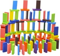 SYGA 120 Pieces 12 Colors Wooden Standard Compitition Domino Children Early Educational Toys Board Game