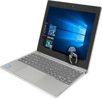 Lenovo MIIX 320 Atom - (4 GB/128 GB EMMC Storage/Windows 10 Home) 80XF00DFIN 2 in 1 Laptop(10.1 inch, Silver)