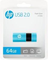 HP v152w 64 GB Pen Drive(Multicolor)