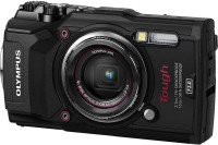 Olympus TG-5(12 MP, 4x Optical Zoom, 4x Digital Zoom, Black)