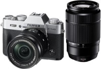 Fujifilm X-T20 with XC 16-50mmF3.5-5.6 OIS B CD and XC 50-230MMF4.5-6.7 OIS II Lens Mirrorless Camera Kit(Silver)