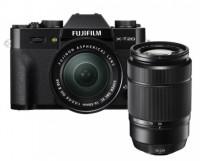 Fujifilm X-T20 with XC 16-50mmF3.5-5.6 OIS B CD and XC 50-230MMF4.5-6.7 OIS II Lens Mirrorless Camera Kit(Black)