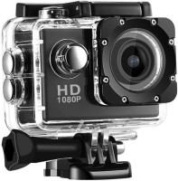 Dilurban 12 MP 1080p Sports Camera & Micro SD Card Slot Sports and Action Camera(Black, 12 MP)