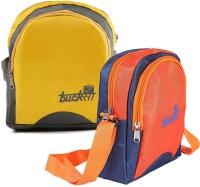 Bucksa Backpack Combo(Multicolor)