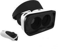 TechGear Virtual Reality Headset 3D VR Glasses With Remote IOS Edition With Remote(Smart Glasses)