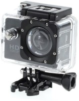 LIZZIE Sports Action Camera with 170° Ultra Wide-Angle Lens & Full Accessories Sports and Action Camera(Black, 12)