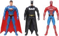 Joanna Small Size Super Heroes (6 Inches)(Multicolor)