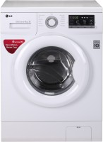 LG 6 kg Fully Automatic Front Load with In-built Heater White(FH0G7NDNL02)