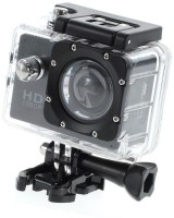 LIZZIE Sports Action Shot Full HD 12MP 1080P Black Helmet Sports Action Waterproof Sports and Action Camera(Black, 12)