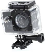 LIZZIE Sports Action Camera Video Camera with Waterproof Camera Case Sports and Action Camera(Black, 12)