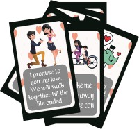 SYGA Set of 8 Stages of Love Story Perfect Valentine,Birthday,Wedding,Annivesary Gift for Your Loved Once Greeting Card(Multicolor, Pack of 8)