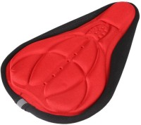 10dare Cycle Cover-0146 Bicycle Seat Cover Free Size(Red, Black)